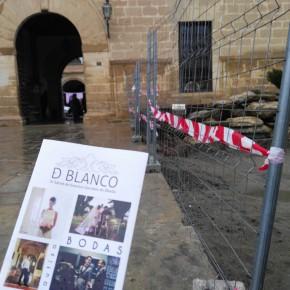 Ciudadanos Úbeda lamenta el mal estado de los accesos a la muestra D`Blanco debido a las obras del centro cultural Hospital de Santiago
