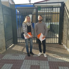 Cs Torredonjimeno pide al Ayuntamiento que ofrezca la máxima seguridad posible a los alumnos del Colegio 'El Olivo'