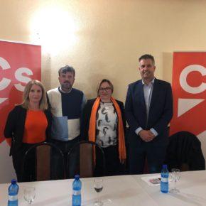 """Ciudadanos se presenta en Pozo Alcón como alternativa a los """"viejos partidos"""" y con Rocío Moreno como coordinadora"""