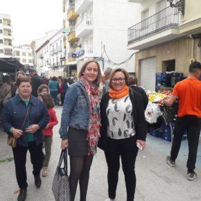 Marián Adán arranca la campaña en Las Villas y la Sierra de Cazorla para reivindicar la Jaén aislada y despoblada