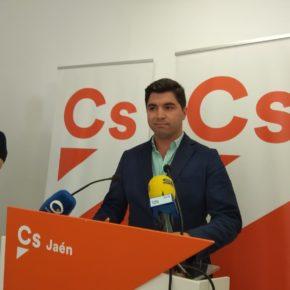 """Enrique Moreno (Cs) aplaude las ayudas de la Junta por el temporal: """"Un ejemplo de eficacia frente a los bandazos de Sánchez"""""""