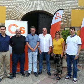 Ciudadanos (Cs) | Cs presenta su nueva junta directiva en Andújar con Pedro Gallardo como coordinador