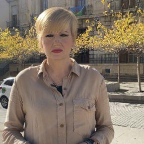 """María Cantos: """"Ciudadanos demuestra con las enmiendas presentadas a los PGE que tiene un proyecto claro de futuro para la ciudad de Jaén"""""""