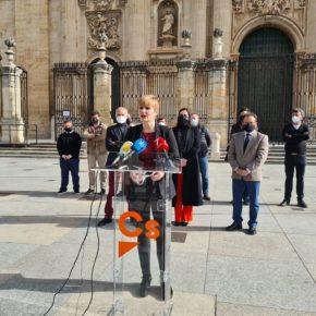 """Cantos: """"Ciudadanos llegó con el compromiso de traer infraestructuras y un proyecto para Jaén, pero no nos han dejado"""""""