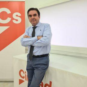 """Moreno: """"La política útil de Ciudadanos va a permitir dar un paso adelante a las pymes y autónomos de Jaén, que llevan un año tratando de no caer"""""""