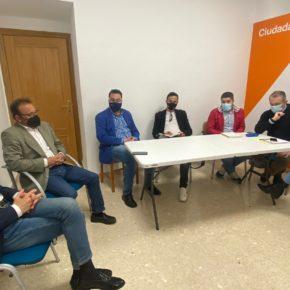 """Ciudadanos Jaén se reúne con la nueva agrupación local, en un encuentro que ha sentado las bases para una """"relación fluida y directa"""""""