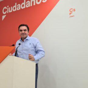 """Moreno: """"El Gobierno de Ciudadanos va a ayudar a las familias de feriantes de la provincia de Jaén, a las que el Gobierno de Sánchez dio la espalda"""""""