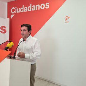 """Moreno: """"Ciudadanos ha logrado con su trabajo en la Junta de Andalucía que los ayuntamientos jienenses puedan acceder a los fondos europeos"""""""