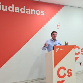 """Ciudadanos defiende su apuesta por bajar los impuestos desde el Gobierno andaluz y celebra que la medida beneficiará de forma directa a """"al menos 326.000 jienenses"""""""